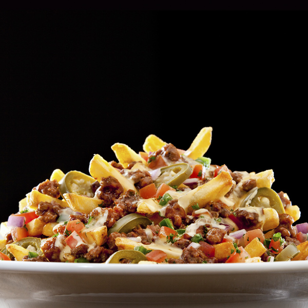 Stacked Chili Cheese Fries
